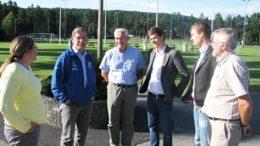Anne Kristiansen, Oddvar Glidje, Arild Espegren og Knut Arild Hareide