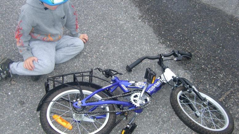 Ødelagt sykkel