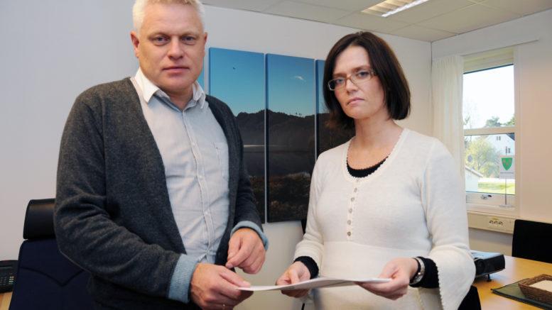 Rådmannen og ordføreren holder budsjettet