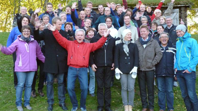 Bilde av deltakerne på Omdømmeskolen første samling 2012
